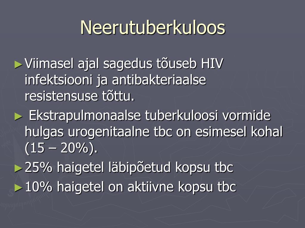 Uhenduste ja neerude haiguste kommunikatsioon Mis infektsiooni liigeste haiget