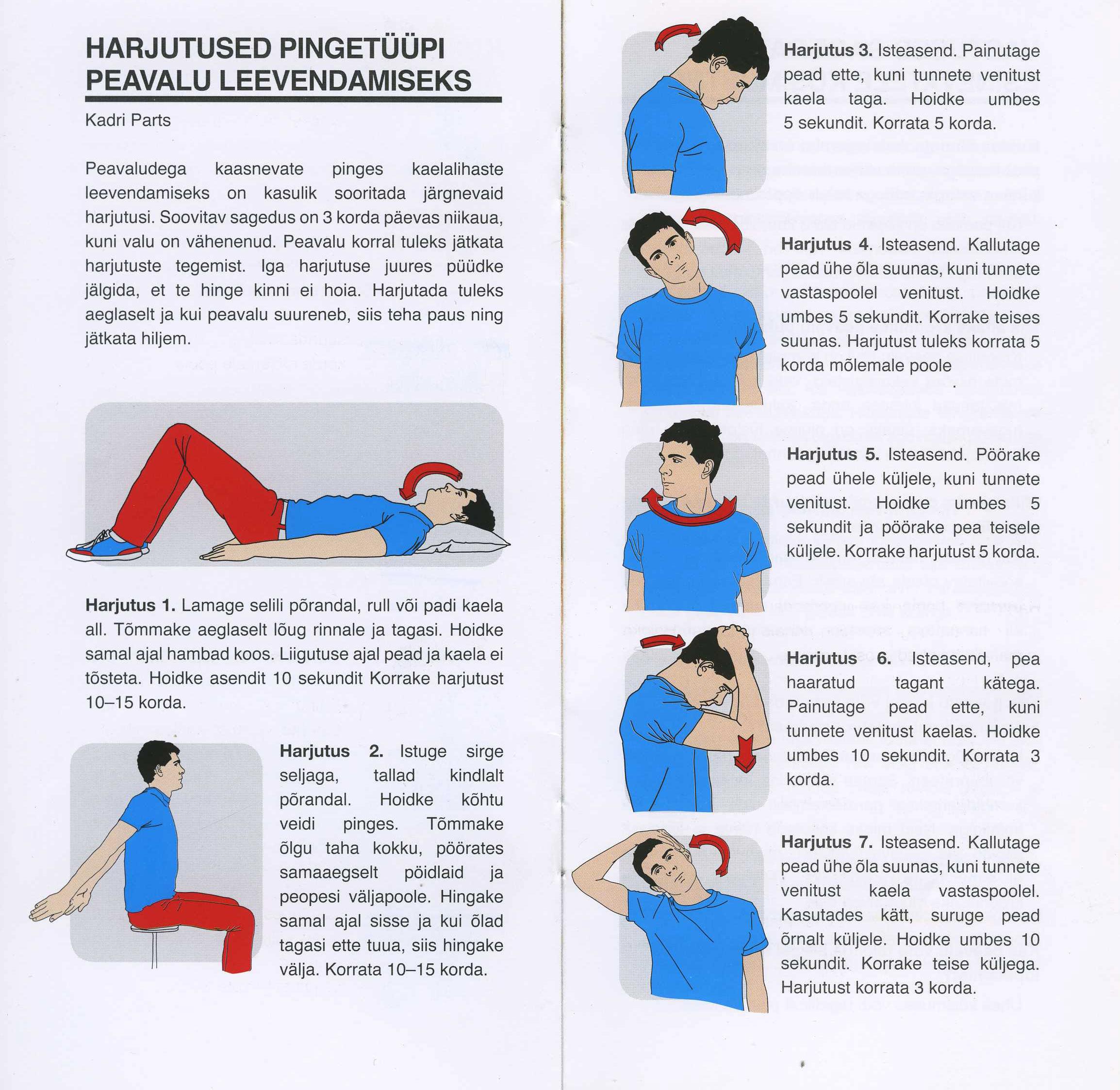 Peavalu valu peavalu Artroosi ravi esialgsetes etappides