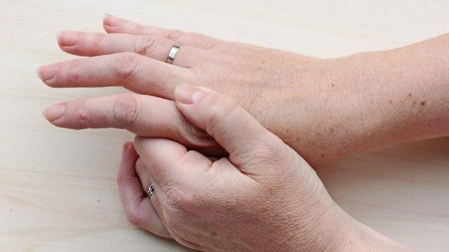 Ravi sormed Kui liigesed samme kahjustavad