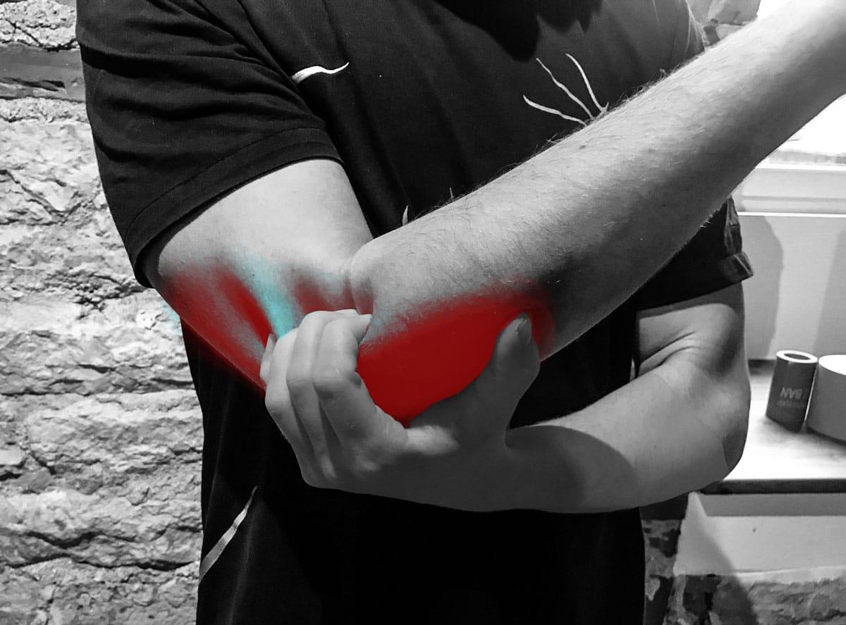 Valu kuunarnuki liigeses ja kaelal